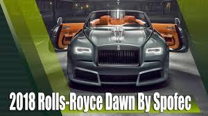 spofec rolls royce 2018 rolls royce dawn overdose by spofec youtube