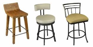 Comfortable Bar Stools With Backs What U0027s Trending In Kitchen Stools The U201cmini Back U201d Stool