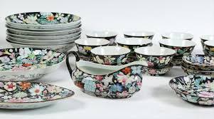 igavel auctions set of 52 chinese porcelain famille verte
