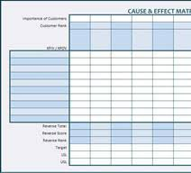 Sipoc Template Excel Sipoc Diagram Process Map