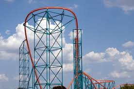 Six Flags Parking Titan Roller Coaster Guide To Six Flags Over Texas