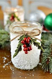 Easy To Make Christmas Decorations For Outside by Best 25 Christmas Candles Ideas On Pinterest Winter Decorations