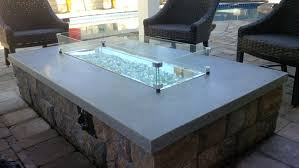 concrete fire pit exploding glass rocks for fire pits outdoor goods