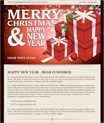 christmas emails templates 2017 best template examples within