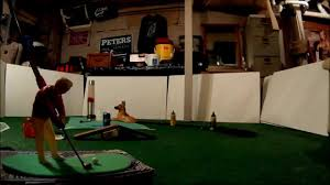 arnold palmer 1960s indoor golf game youtube