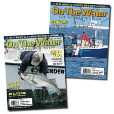 subscribe to on the water magazine on the water outfitters
