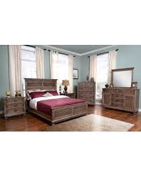 holiday special lakeport pewter panel bedroom set by new classic