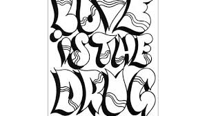 coloring pages graffiti swag and money graffiti alphabet letters