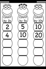 skip counting worksheets printable worksheets pinterest skip
