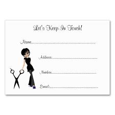 Salon Client Information Sheet Template Salon Client Information Cards Business Card Templates