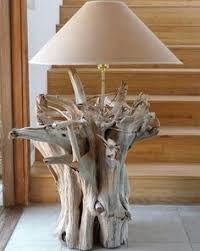 driftwood lamp the shade makes the lamp inspiration