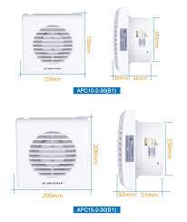 Inch Window Mounted Toilet Exhaust Fan Bathroom Fan Exhaust - Bathroom fan window 2