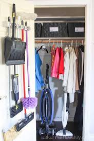 Wardrobe Organization How To Organize The Entryway Closet In 30 Minutes Or Less Ask Anna