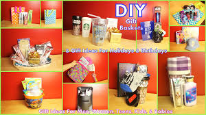 birthday baskets for him diy gift baskets gift ideas how to assemble for men women