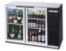 refrigerators with glass doors beverage air bb48gy 1 b 12 4 cf back bar refrigerator with glass