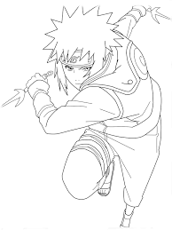 cartoon naruto coloring pages for kids free coloring pages for