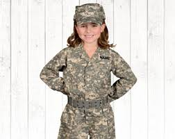 Army Soldier Halloween Costume Army Costume Etsy