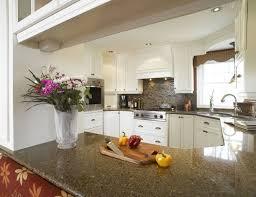comptoir de cuisine noir comptoir de granit ou de quartz la cuisine