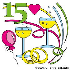 15 jã hriger hochzeitstag ehejubiläen bilder cliparts illustrationen gifs grafiken kostenlos