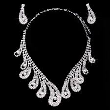 bridal necklace earring images Buy sha hua bridal accessories bridal jewelry bridal diamond jpg