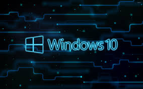 download theme windows 10 keren windows 10 glowing logo on a network wallpaper computer wallpapers