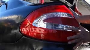 mercedes light replacement how to install replace light clk class w209 mercedes