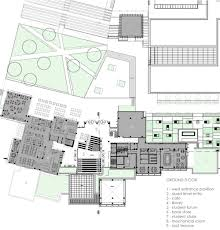 Student Center Floor Plan by özyeğin University Student Center In çekmeköy Campus Turkey