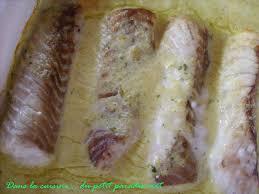 cuisiner poisson surgelé dos de colin sauce aux herbes dans la cuisine du petit paradis vert