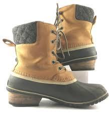 womens duck boots uk sorel cheap sorel shoes shop uk sorel black slimpack lace 2 duck
