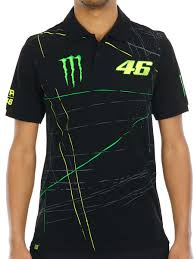 monster motocross jersey valentino rossi black monster energy collection polo shirt