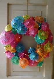 summer wreath easy to make and inexpensive crafts