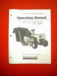mtd montgomery ward tractor models tmo 33925a u0026amp tmo 33929a