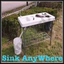 Portable Sink For Camping Sinks And Faucets Gallery - Portable kitchen sinks