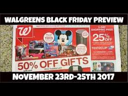 walgreens black friday ad preview 3 day sale