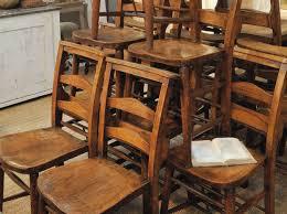 les chaises d église décoration