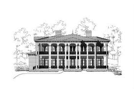 luxury colonial house plans luxury house plans colonial home design ohp 20718 16411