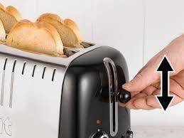 Bread Shaped Toaster Black Gloss Dualit Long Slot Lite Toaster