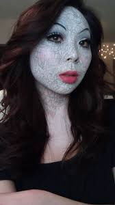 oz inspired porcelain doll makeup youtube