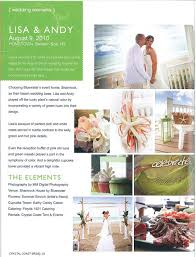 featured crystal coast wedding articles