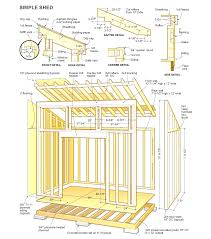 8 8 shed plans corglife