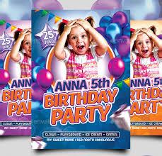 33 birthday flyer templates free u0026 premium download