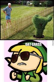 Link Meme - link zelda ass grass by bildr meme center