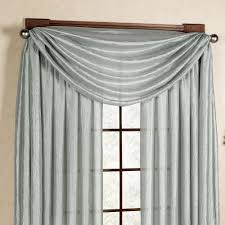 Window Scarf Valance Holders Window Scarf Valance Scarf Valance Installed With Brackets Or