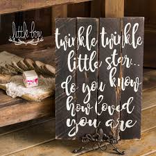 decor signs wood sign twinkle twinkle children rustic sign bedroom