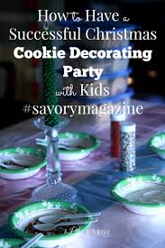 christmas cookie decorating party christmas lights decoration