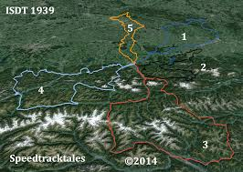 Google Map Germany by Mapping The Isdt Germany Austria 1939 Speed Track Tales