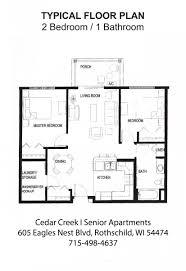 cedar creek i senior housing rothschild wi horizonseniorhousing com