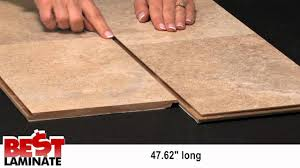 Tile Effect Laminate Flooring Clarion Chesapeake Travertine Tile Laminate Flooring Youtube