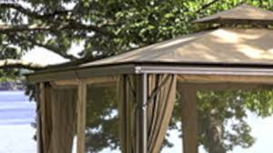 Replacement Canopy For 10x12 Gazebo by Replacement Canopy For Bj U0027s Elworth Gazebo Youtube