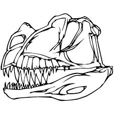 dinosaur bones coloring pages getcoloringpages com